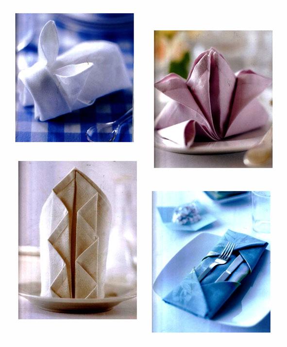 انواع تا کردن دستمال میز غذا خوری با اوریگامی - دیدیر بورسین