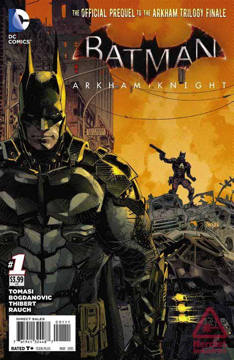 Batman:Arkham knight 001 [print ver]