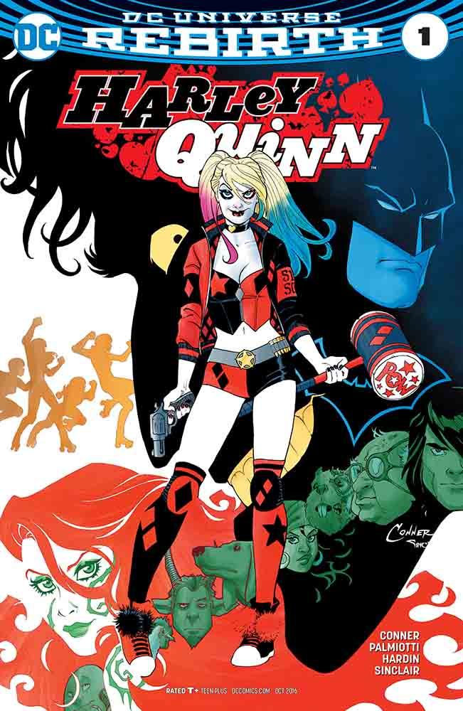 The story of  Harley quinn 001