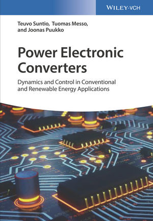 کتاب Power Electronic Converters (Dynamics and Control in Conventional and Renewable Energy Applications)