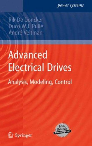 کتاب Advanced Electrical Drives (Analysis, Modeling, Control)