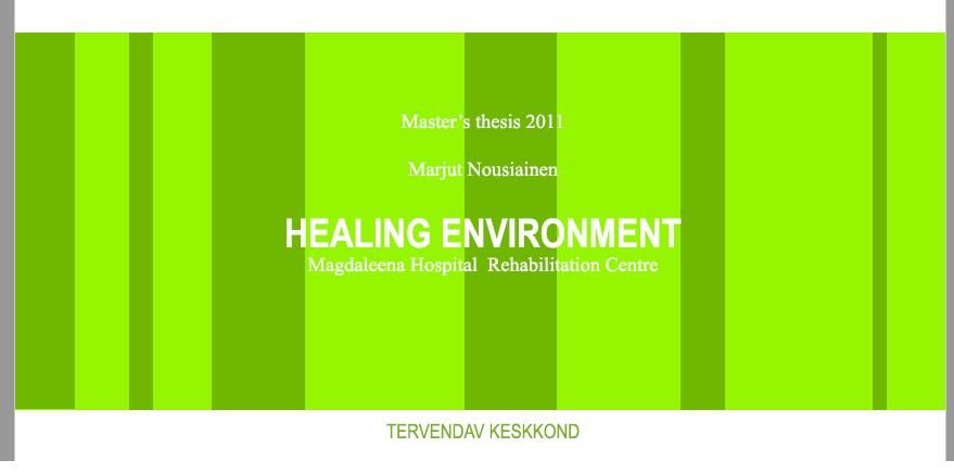 محیط زیست شفا  :   مرکز توانبخشی بیمارستان مگدالینا