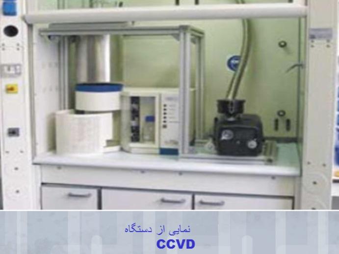تولید نانو پودر به روش پاشش حرارتی
