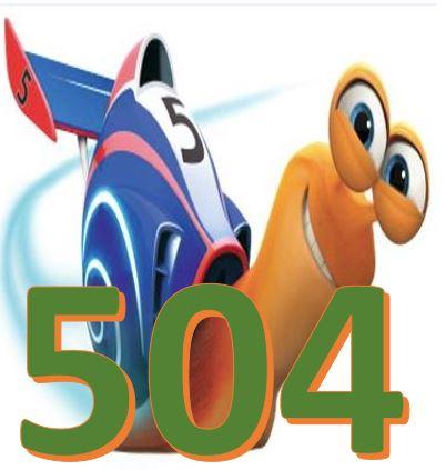 مرور سریع 504 واژه به روش توربو