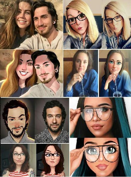 عکستو کارتونی کن
