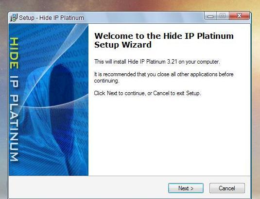 نرم افزار هاید ای پی Hide IP Platinumامنیتی  است برای مخفی کردن ای پی دراینترنت