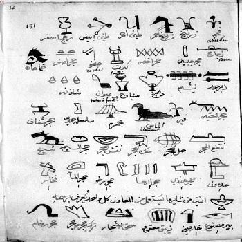 کتاب شوق المستهام في معرفة رموز الاقلام(باستانی) pdf
