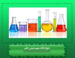 نکات مفهومی شیمی دهم همراه با خلاصه فصول کتاب