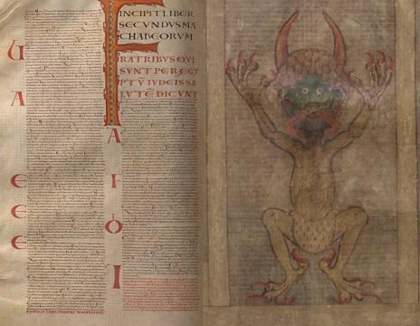 قانون نامه گیگاس - نسخه خطی کتابخانه سوئد
