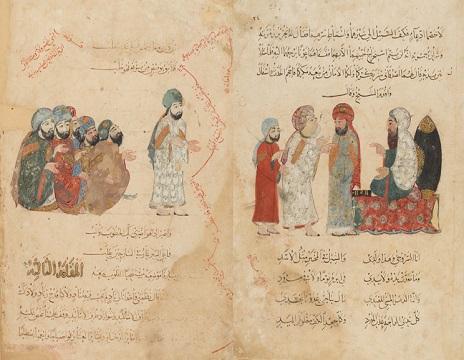 المقامات الحريرية - نسخه خطی مصور