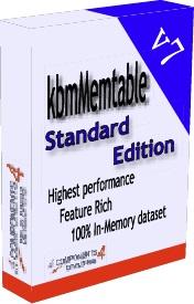 KbmMemTable Standard v7.69 for D2009-XE10 Full Source With Crack