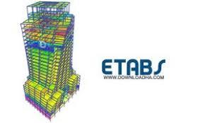 فایل ایتبس پروژه 6 طبقه سازه فولادی