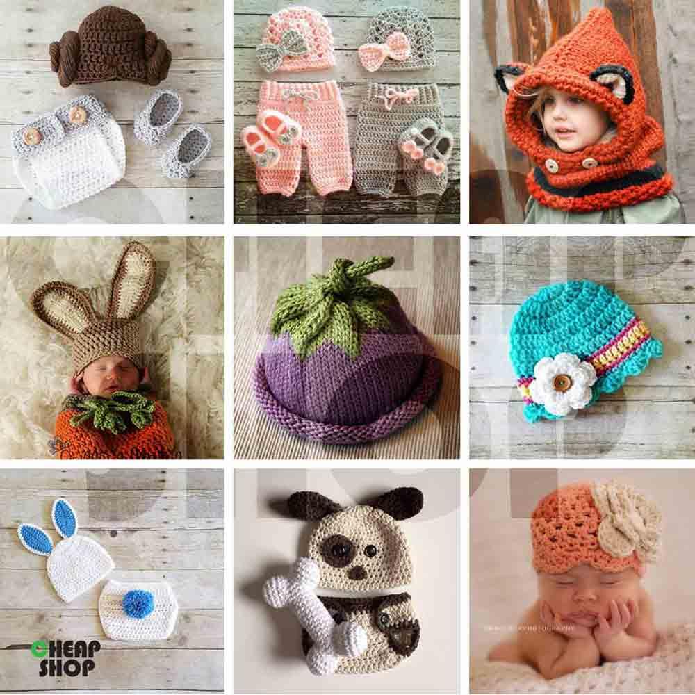 مجموعه ی جدید، فوق العاده متنوع و جذاب کلاه بافتنی بچگانه