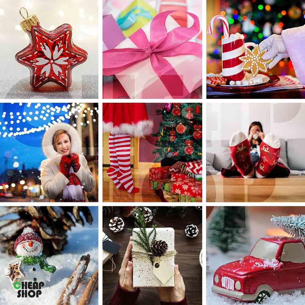 مجموعه ی جدید، فوق العاده متنوع و جذاب تصاویر شب یلدا و کریسمس
