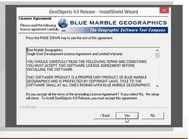 نرم افزار BlueMarble GeoObjects 4.0