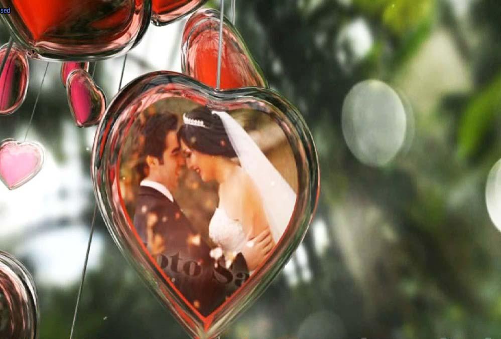 """پروژه آماده ادیوس """" روز عروسی در باغ عشق """" مخصوص تصاویر عروسی( تخفیف ویژه )"""