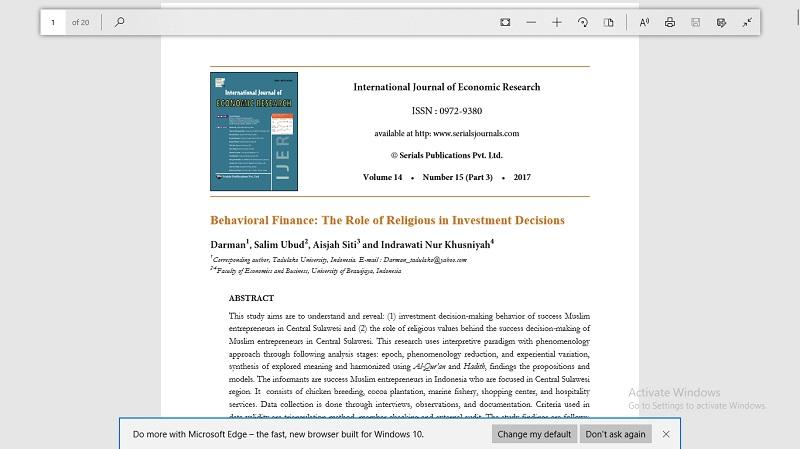 سرمایه گذاری رفتاری: نقش مذهب در تصمیم گیری های سرمایه گذاری