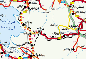 اطلس راه های ایران