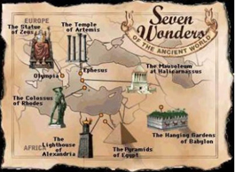 همه چیز درباره عجایب هفتگانه جهان (فارسی)