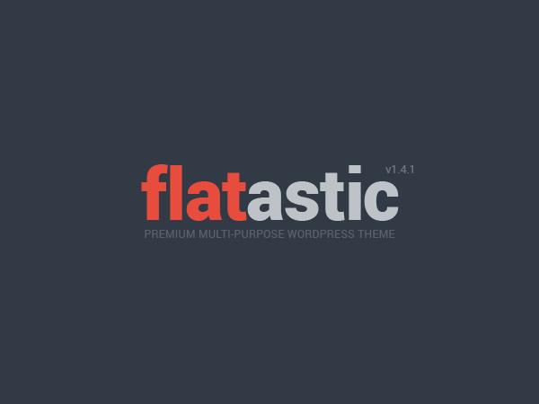 قالب وردپرس فروشگاهی FLATASTIC
