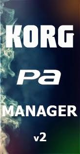 Korg pa manager v2.2