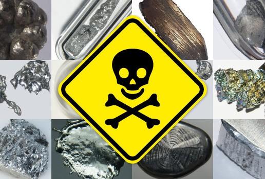 مقاله فلزات سنگین