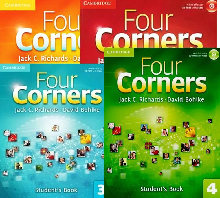 کلید کتاب کار Four Corners 1،2،3،4+ متن listening