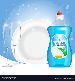 فرمول مایع ظرفشویی با درخشندگی بالا