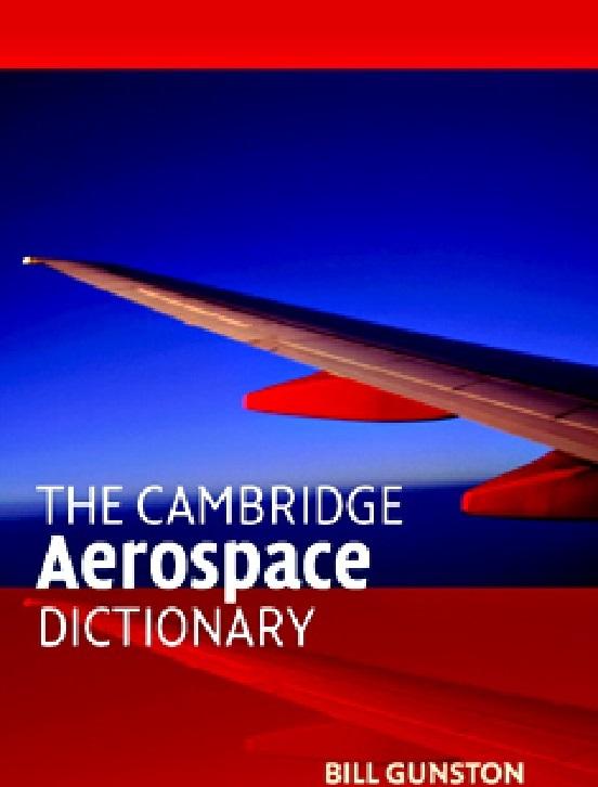 """دیکشنری تخصصی مهندسی هوافضا """"The Cambridge  Aerospace Dictionary"""""""