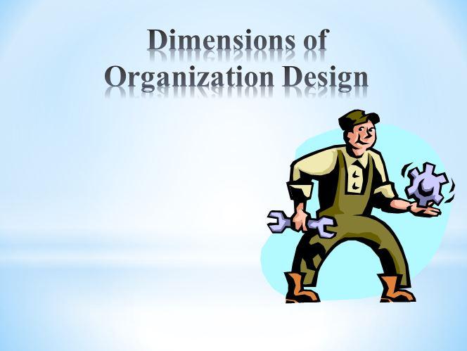 """پاورپوینت آموزشی """"ابعاد سازمانی"""""""