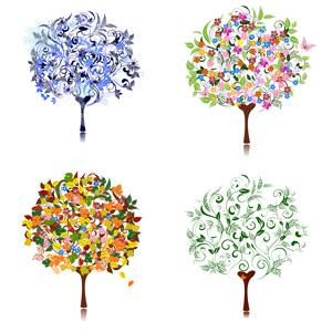 درخت در چهار فصل 7