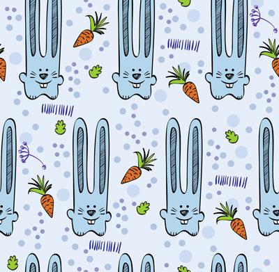 لایه باز پس زمینه کودک خرگوش آبی