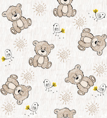 لایه باز پس زمینه کودک خرس قهوه ای