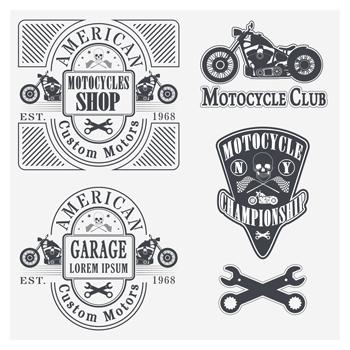 لایه باز لوگو موتورسیکلت