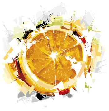 لایه باز وکتور پرتقال