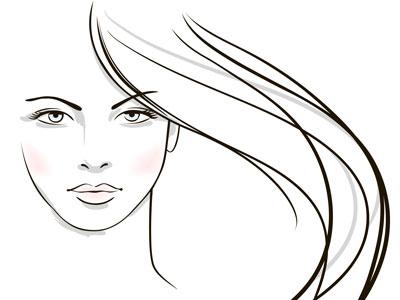 لایه باز وکتور دختر با موهای بلند (10)