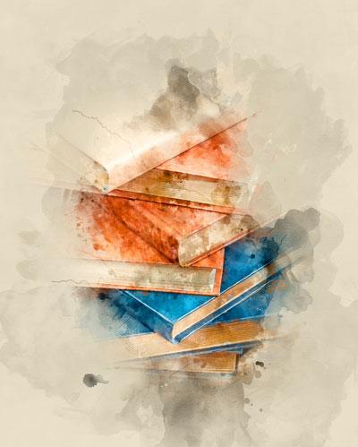 عکس چیدمان کتاب