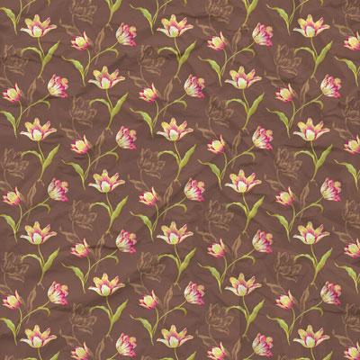 عمس کاغذ دیواری و پترن گل (3)