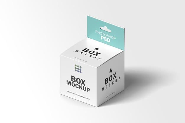 موکاپ جعبه