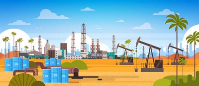 وکتور لایه باز چاه های استحراج نفت