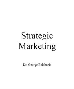 خرید کتاب Strategic Marketing