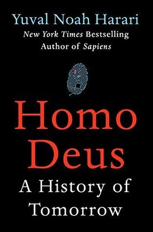 کتاب Homo Deus به همراه کتاب Sapiens