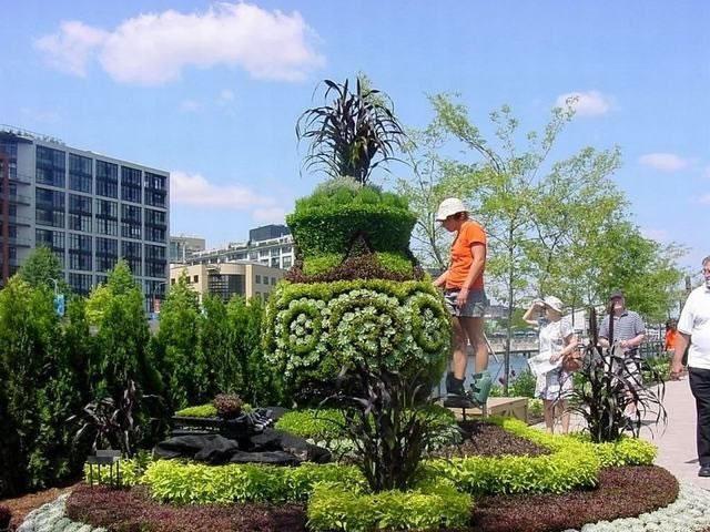 دانلود فايل پاورپوينت مربوط به آموزش طراحي فضاي سبز شامل اهميت و کاربرد چمن، پرچين (ديوار سبز)، روف گاردن (پشت بام سبز)، تاپياري (درخت آرايى)، کاربرد