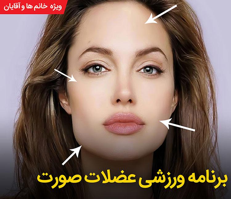 برنامه ورزشی عضلات صورت