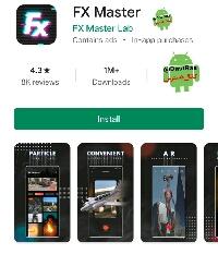 دانلود رایگان برنامه ادیت و جلوه های ویژه fx master برای اندروید