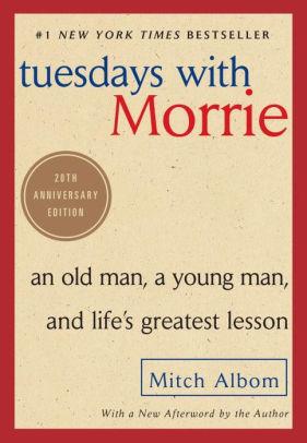 کتاب  رمان زبان اصلی Tuesdays with Morrie به نویسندگی Mitch Albom