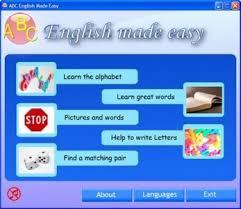 نرم افزار یادگیری زبان انگلیسی  ABC English Made Easy 2010