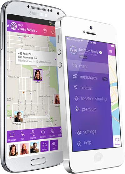 ردیابی افراد روی نقشه با موبایل