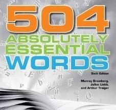 فایل Word لغات 504 با معنی و کاربرد