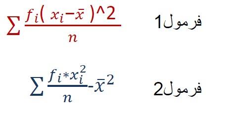 دو مثال حل شده واریانس در اکسل